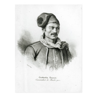 Constantine Kanaris Vykort