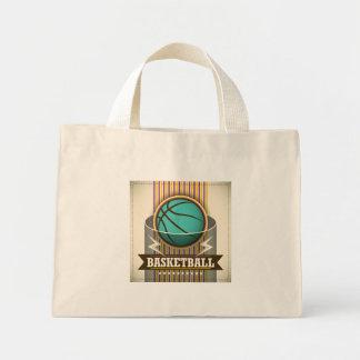 Coola för basketsportbollspel mini tygkasse