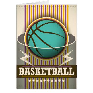 Coola för basketsportbollspel OBS kort