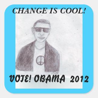 Coola - Obama 2012 Klistermärke