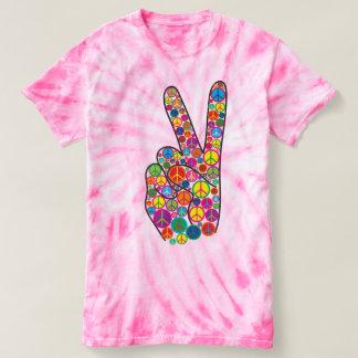 Coola som är färgrik och Groovy fredssymboler T Shirt