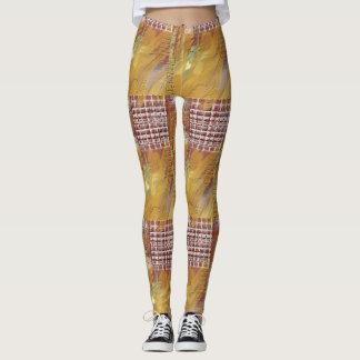 Coola texturerad damasker leggings