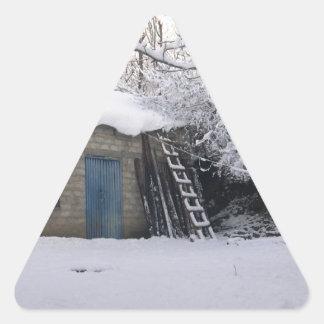 Coolahemmet avbildar triangelformat klistermärke