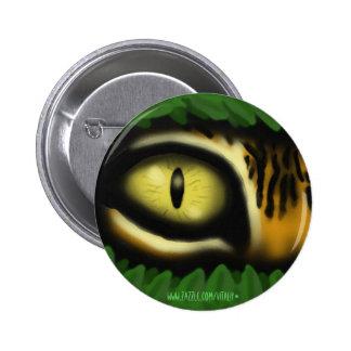 Coolan för konst för tigerögatecknad knäppas standard knapp rund 5.7 cm