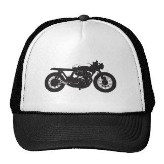 Coolan för vintage för Caferacer-/Bratmotorcykel Keps