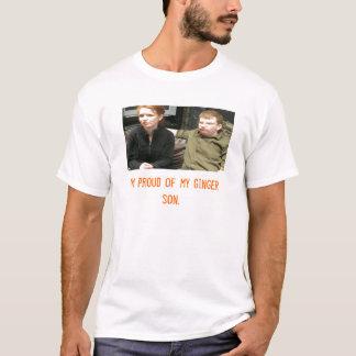 coppermom1 I-förmiddag som är stolt av min ljust Tee Shirts