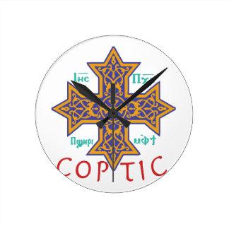 Coptic Rund Klocka