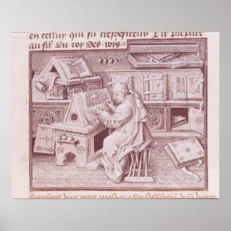 Copyisten Jean Mielot Poster