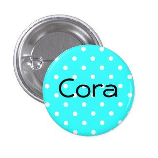 Cora knäppas mini knapp rund 3.2 cm