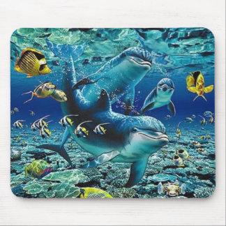 coral_pals_dolphins_1B rullar All över mig Musmatta