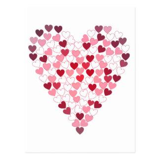 Corazon de Corazones - hjärta av hjärtor Vykort