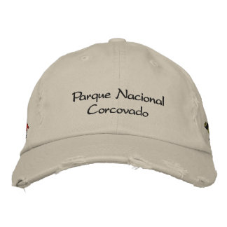 Corcovado nationalpark broderad keps