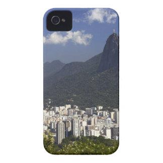 Corcovado som förbiser Rio de Janeiro, Brasilien iPhone 4 Skal