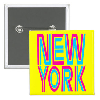 Corey tiger80-tal Retro New York Standard Kanpp Fyrkantig 5.1 Cm