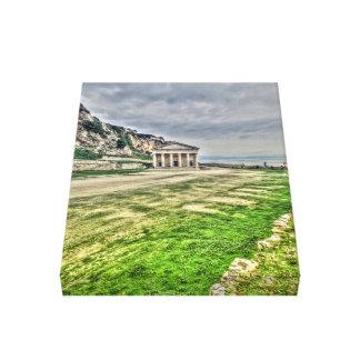 Corfu Grekland Canvastryck