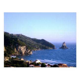 Corfu ö vykort