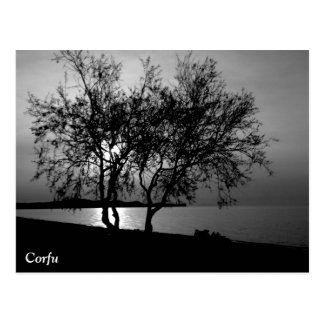 Corfu tider vykort