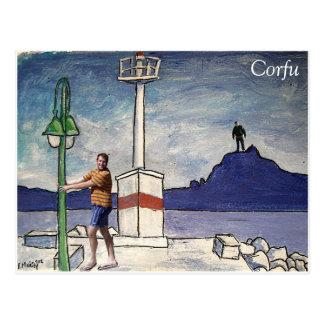 Corfu Vykort