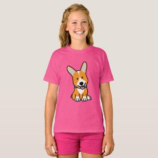 CorgiCorgis förföljer den walesiska lyckliga T Shirts