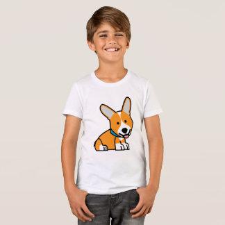 CorgiCorgis förföljer den walesiska lyckliga T-shirts