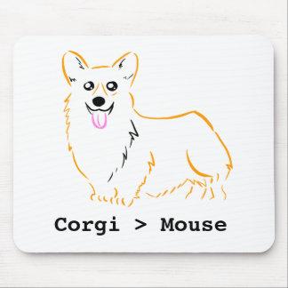 Corgis är bättre än möss! musmatta