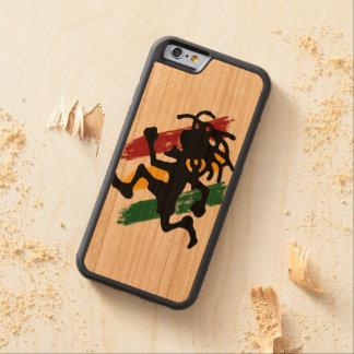 Cori Reith Rasta reggae Carved Körsbär iPhone 6 Bumper Skal