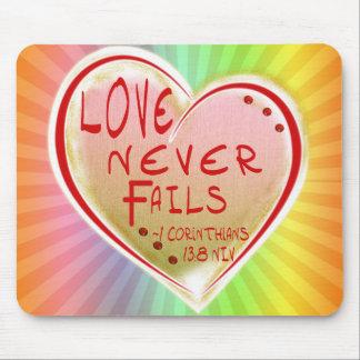 Corinthians 13 för KÄRLEK 1: KÄRLEK FÖR 8 NIV Musmatta