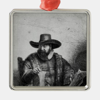 Cornelius Claesz Anslo 1640 Julgransprydnad Metall