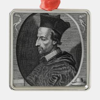 Cornelius Jansen, biskop av Ypres Julgransprydnad Metall
