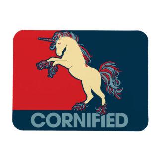 Cornified unicornparodi vinyl magnet
