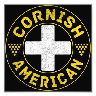 Cornish amerikanska flaggan fotokonst