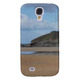 Cornish strand och kusten på dyster dag galaxy s4 fodral