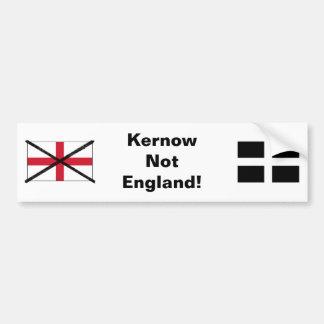 Cornwall inte England bildekal