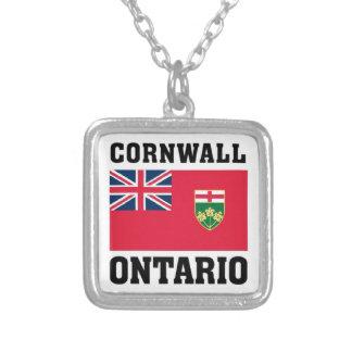 Cornwall Ontario Silverpläterat Halsband