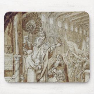 Coronation av Charlemagne Musmatta