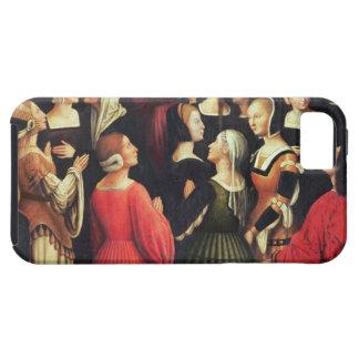 Coronation av oskulden, 1513 (olja på panelen) iPhone 5 Case-Mate fodral