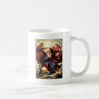 Coronation av oskulden kaffemugg