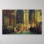 Coronationen av Napoleon Affischer