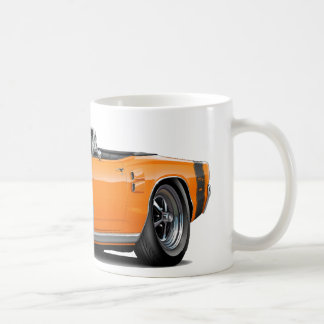 CoronetRT-Orange-Svart omvänd 1969 Kaffemugg
