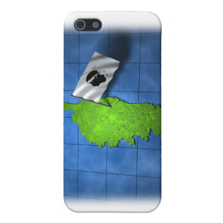 Corsica med dess egna flagga iPhone 5 cover
