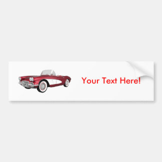 Corvette 1961 C1: GodisApple fullföljande: Bildekal