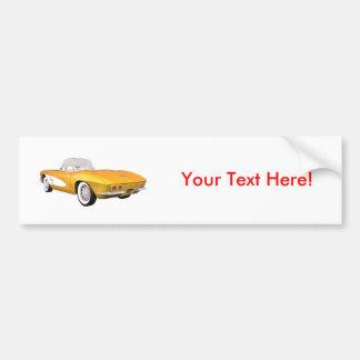 Corvette 1961 C1: Gult fullföljande: Bildekal