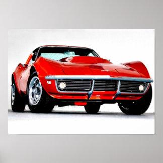 Corvette 1968 L-88 Poster