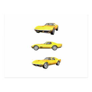 Corvette 1970: Gult fullföljande: Vykort