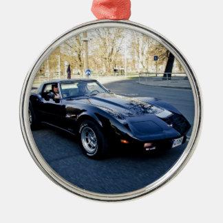 Corvette klassiker 1979 Sportscar Julgransprydnad Metall