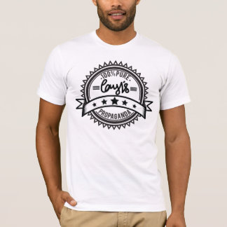 Corys skjorta för propagandautslagsplats tee shirts