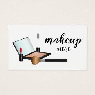 Cosmetologist för konstnär för Makeup för Visitkort