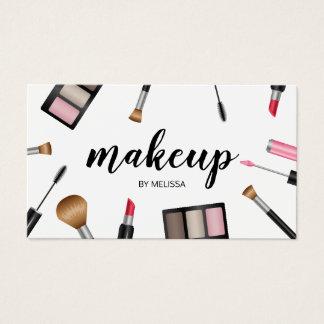 Cosmetologist för konstnär för visitkort