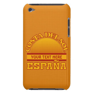 Costa Del Solenoid anpassningsbaripod touch case iPod Touch Skal