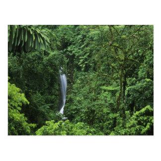 Costa Rica Arenal vulkanområde som hänger Vykort
